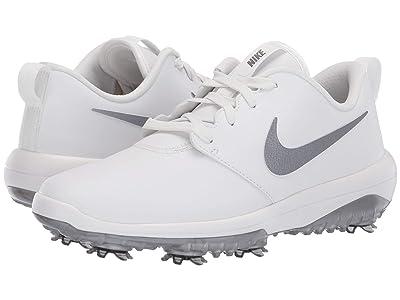 Nike Golf Roshe G Tour (Summit White/Metallic Cool Grey) Women