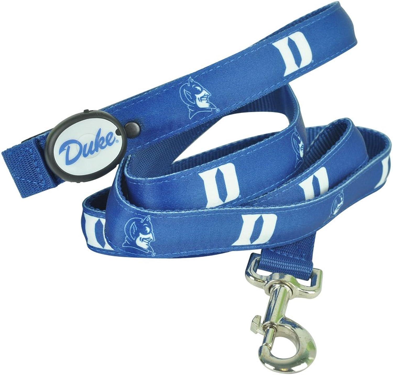 DogEGlow Duke bluee Devils Lighted LED Dog Leash  6Feet