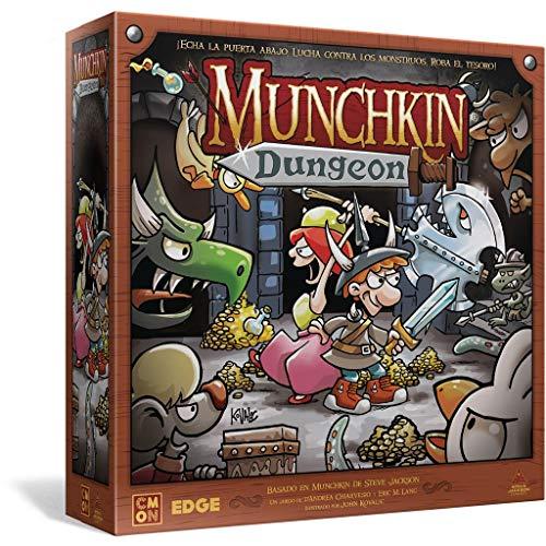 Munchkin Dungeon - ¡Echa la Puerta Abajo, Lucha contra los Monstruos, Roba el Tesoro!
