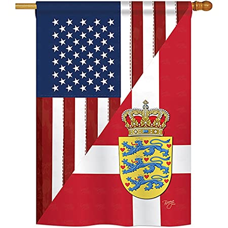 Breeze Decor Us Dutch Friendship Flags Of The World Everyday Impressions Decorative Vertical House Flag 28 X 40 Printed In Usa Garden Outdoor