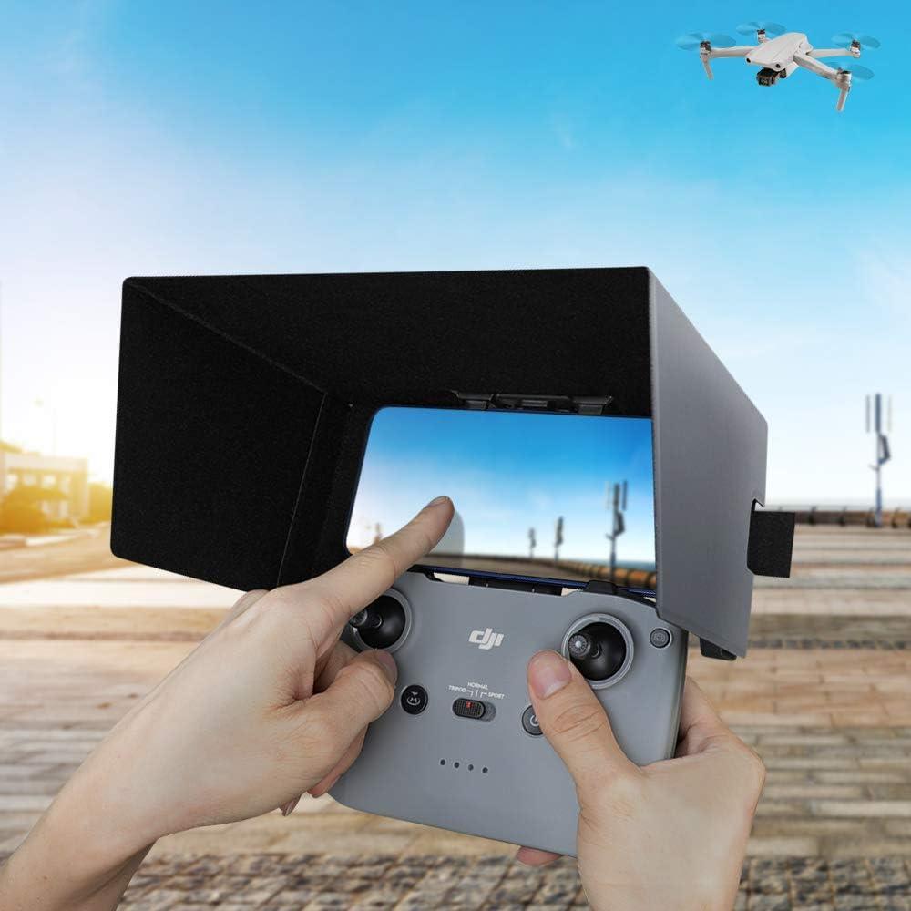 Grey RCGEEK Sunshade Sun Hood Compatible with Monitor 7 Inch Foldable Compatible with DJI Mavic Air 2 Mavic Mini 2 Phantom 3 SE Phantom 4 S Pro V2.0 Drone Remote Controller