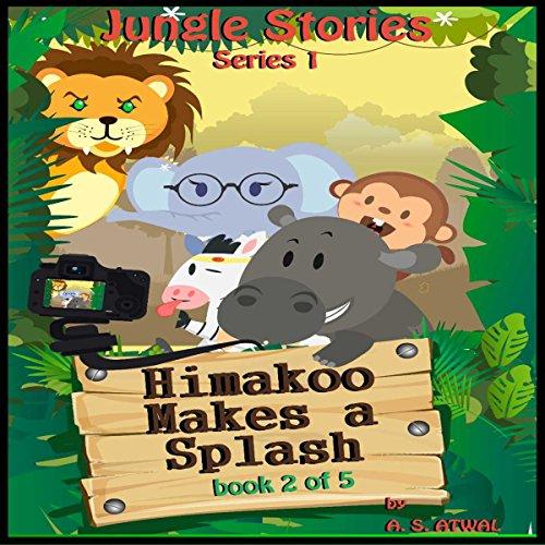 Himakoo Makes a Splash audiobook cover art