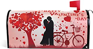 WOOR Valentine's Day Magnetic Mailbox Cover Oversized-25.5