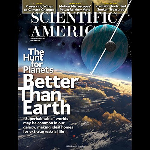 Scientific American, January 2015 audiobook cover art