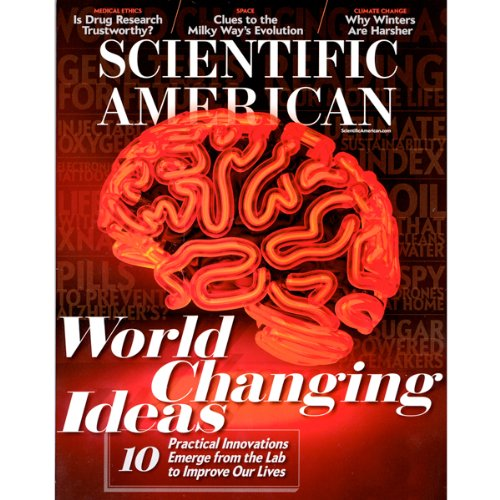 Scientific American, December 2012 audiobook cover art