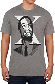Malcolm X More Light Quote Mens Soft T Shirt