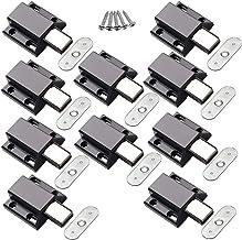 YUOIP® 10 Pack Magnetische vangsten Licht Duty Druk Touch Release Damper Cabinet Deuren Duwkast Magnetische Deurvangst voo...