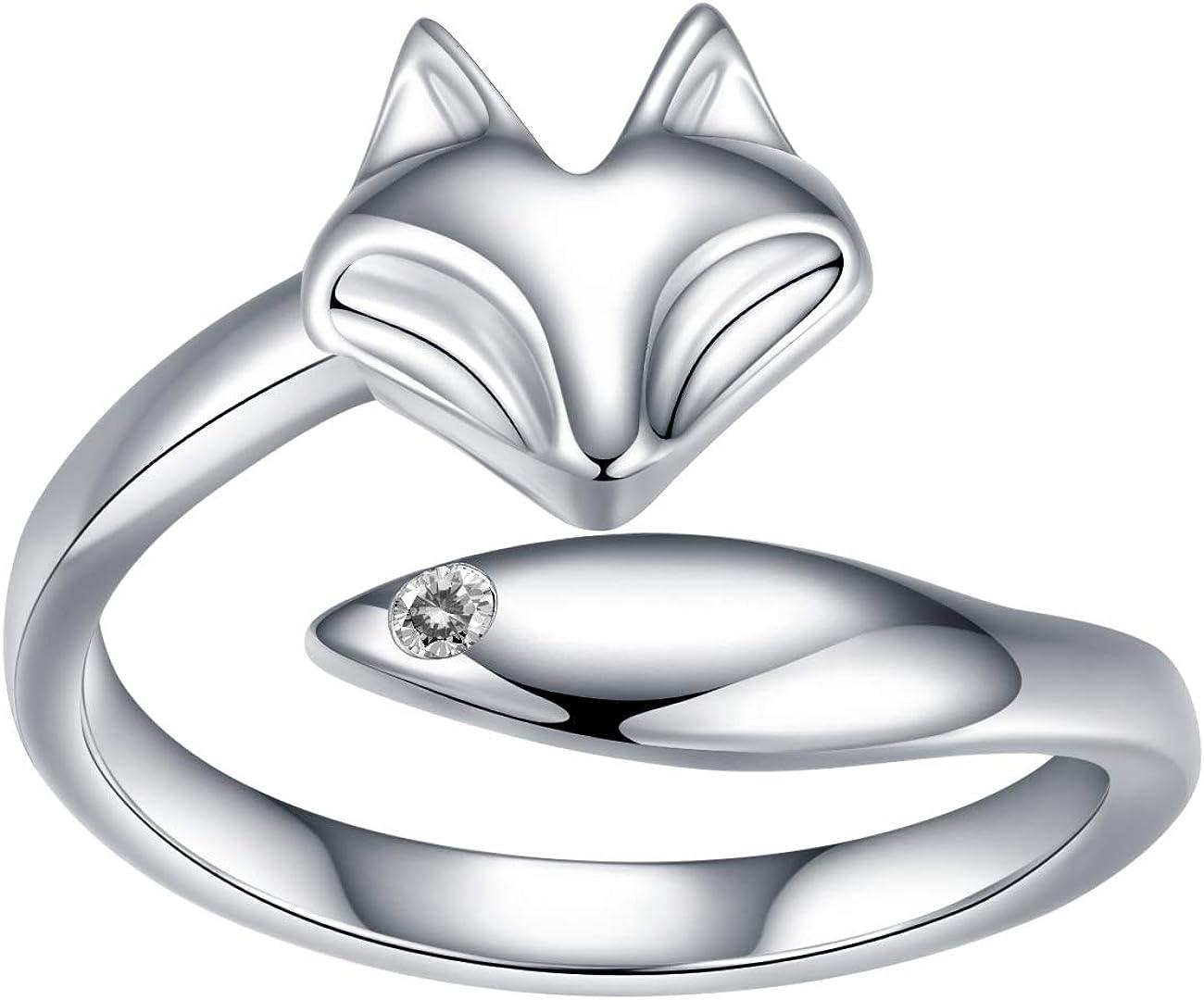 QANYUE Washington Mall Women's S925 Sterling Silver CZ Green Earrings Fox Ranking TOP20 White