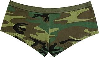 camo booty shorts womens