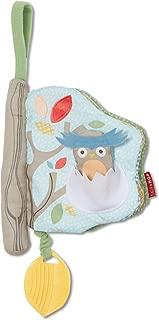Skip Hop Baby Treetop Friends Soft Activity Book, Grey Pastel (Recolor), Multi