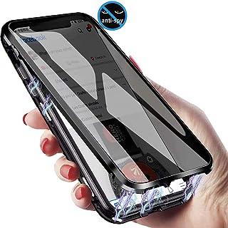 XCYYOO Coque Magnétique Anti Espion Compatible avec Huawei P40 Pro,360 Degrés Protection Housse,Face Avant et arrière en V...