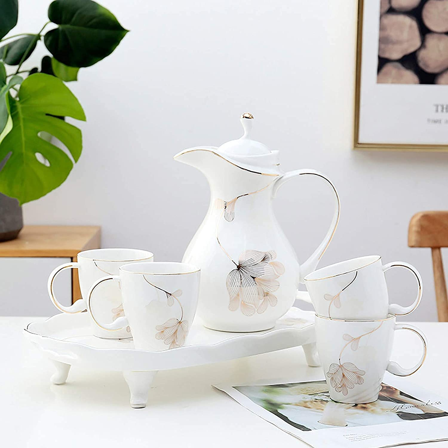 Max 86% OFF TEAYASON European-Style Ceramic Coffee Cup Home Living Financial sales sale Set Room