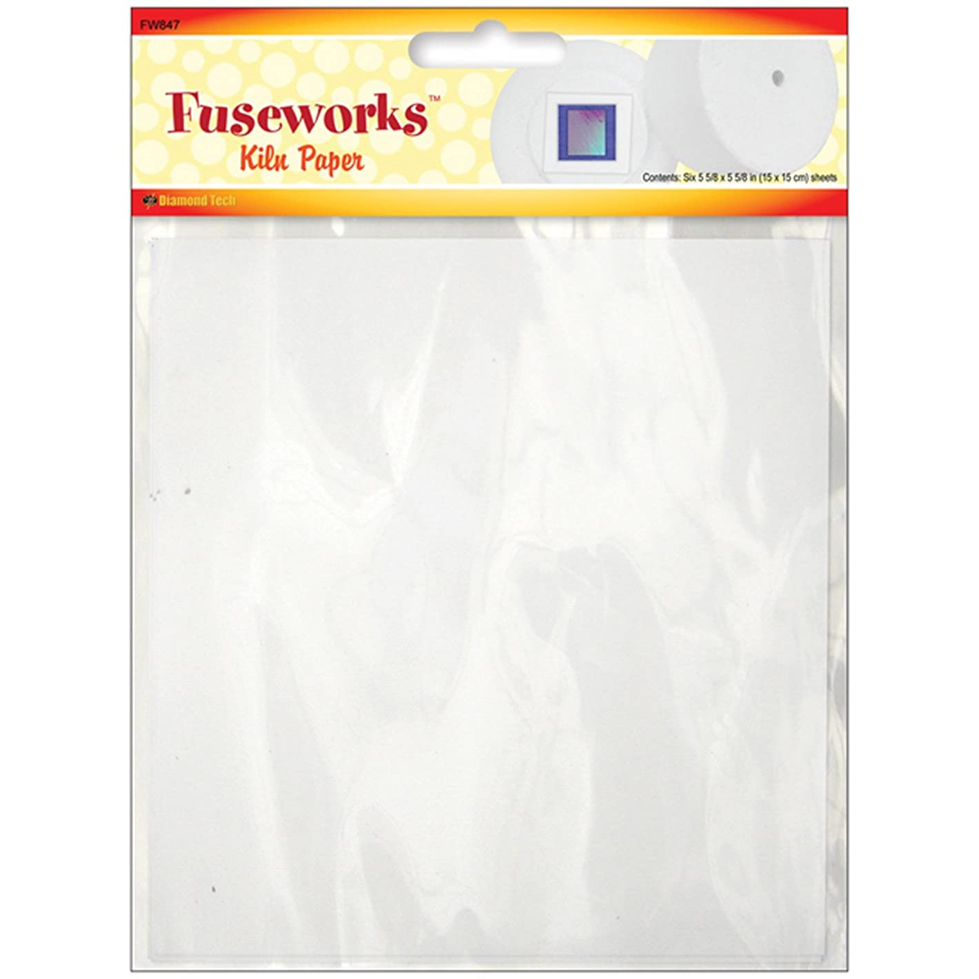 Fuseworks Kiln Paper, Pack of 4 Sheets t83696431528535