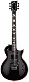 ESP Artist Series LGH200BLK Solid-Body Electric Guitar, Black