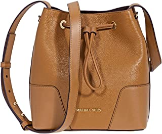 fc8df9761e01 Michael Kors Pebbled Leather Crossbody Bag- Acorn
