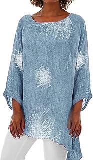 Sceoyche Women Fashion Short Sleeve Print Top Fashion T Shirt Ladies Tops Blouse