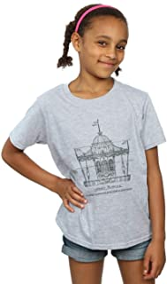 Disney Girls Mary Poppins Carousel Sketch T-Shirt