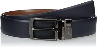 Perry Ellis Men's Perry Ellis Portfolio Men's First Navy Reversible Belt