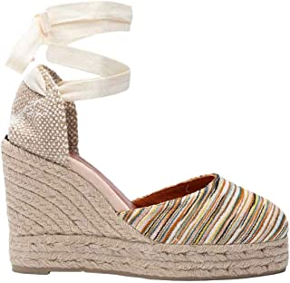 CASTANER Women's Carina Fabric Missoni Collection Wedge Espadrilles