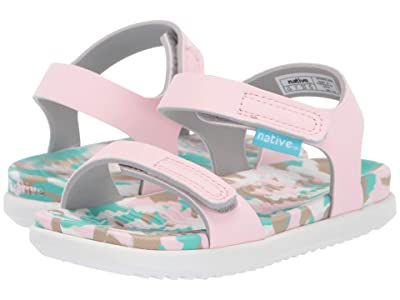 Native Kids Shoes Charley (Toddler/Little Kid) (Blossom Pink/Konpeito/Shell White) Girls Shoes