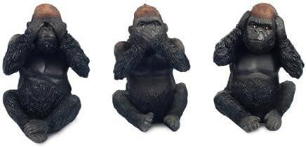 Cuisine & Maison Modèle de Résine Crâne de Gorille Réaliste ...