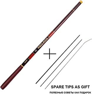 Super-fantastic-store Carp Feeder Fishing Rod Carbon Fiber Telescopic Rods Hand Pole 3.6-7.2m Stream Rods Tackle Vara