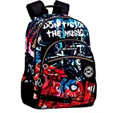 Montichelvo Montichelvo Double Backpack A.O. CG Music Bolsa Escolar, 32 cm, Multicolor (Multicolour)