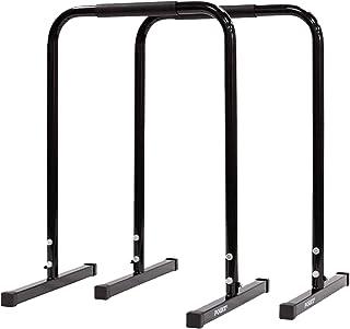 Powrx parallele fitness calisthenics corpo libero - barre push up + pdf workout B01BNTS9HW