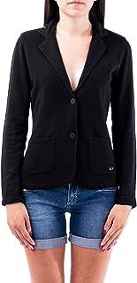 Luxury Fashion   Sun 68 Women F3020411 Black Cotton Blazer   Spring-summer 20