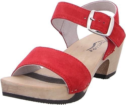 Softclox S338023, Sandales pour Femme Femme Rouge Rouge  marque célèbre