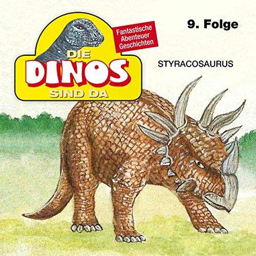 Styracosaurus cover art
