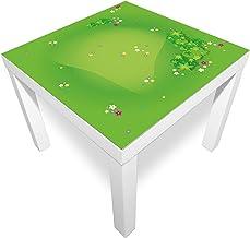 playmatt Spielmatte - Graslandschaft mit Blumen | rutschfest