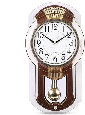 SX-ZZJ Wall Clocks Wall Clock Musical Motion Wall Clocks Non Ticking Decorative Living Room