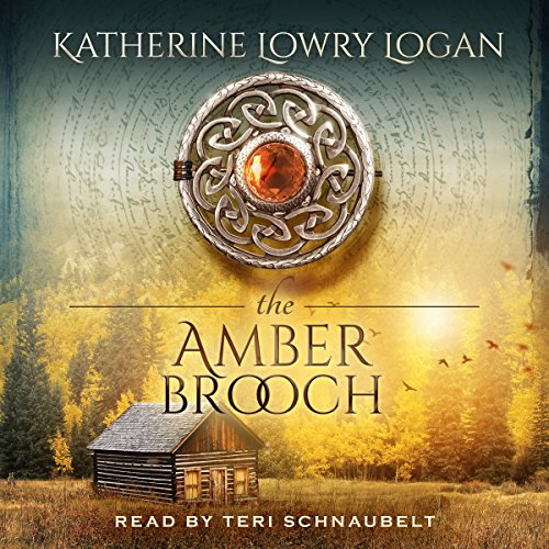 The Amber Brooch audiobook cover art