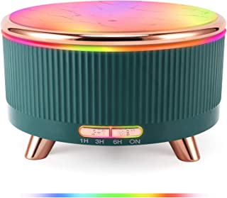 POBEES Aromatherapy Essential Oil Diffuser – fragrance oil Humidifier w/Large 500ml tank, Last 6 hours, 4 Timer, 7 LED Col...