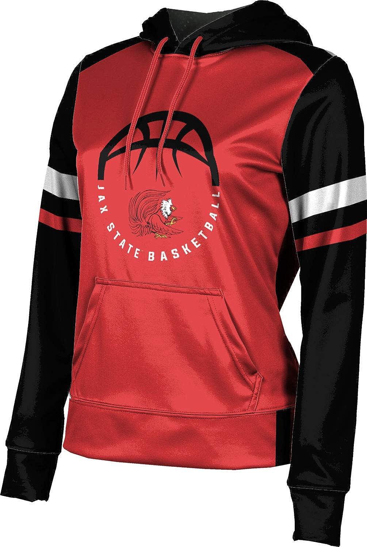 ProSphere Jacksonville State University Basketball Girls' Pullover Hoodie, School Spirit Sweatshirt (Old School)