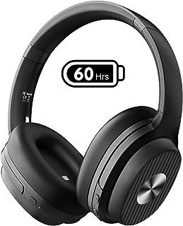 EKSA ワイヤレスヘッドホン ノイズキャンセリング ヘッドホン Bluetooth 5.0 60時間再生 ワイヤレスヘッドフォン USB-C 有線 無線 両用 オーバーイヤーヘッドホン 密閉型 E5