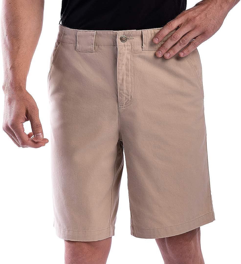SCOTTeVEST Men's Hidden Cargo Shorts Ant Pockets Max price 70% OFF 8 Concealed