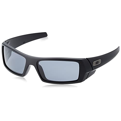 0b4da0a9685fc7 Oakley Men s Gascan Rectangular Sunglasses, Matte Black  Grey, ...