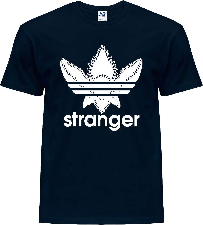 s/érie TV /& Netflix Parody Tranger Things- Marchandise Giano Srl T-shirt unisexe 100/% coton avec logo Tranger- tranger- Trefoil