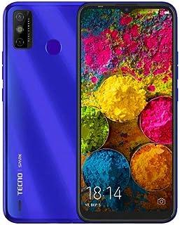 TECNO SPARK 6 GO_KE5 Aqua Blue 4G mobile phone
