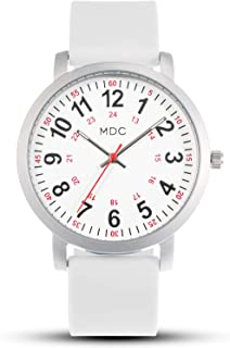 MDC Waterproof Nurses Nursing Scrub Watch with Second Hand for Medical Professionals