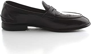 Luxury Fashion | Lemargo Men DB06ABLACK Black Leather Loafers | Spring-summer 20