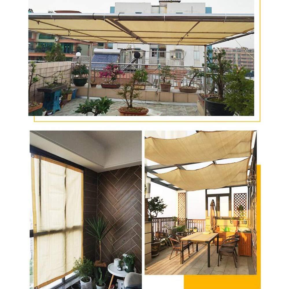 GLJ Shading net LJJL - Red Aislante para toldo de jardín con Bordes y 6 Puntadas para Proteger del Sol, 3m x 3m: Amazon.es: Hogar