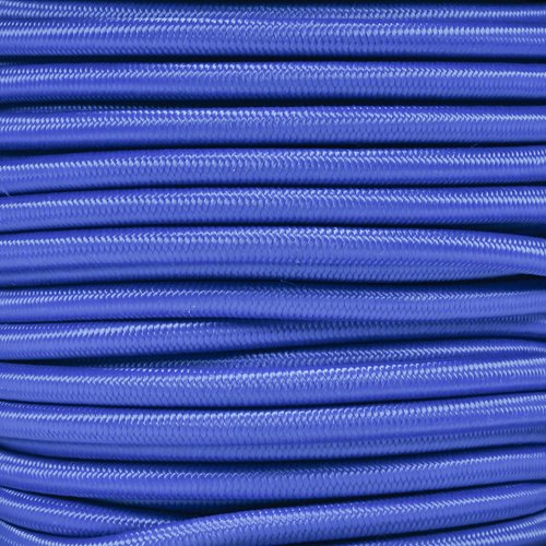Paracord Planet 1/4 Inch Elastic Cord Crafting Stretch String, Made in USA (25 Feet, Royal Blue)
