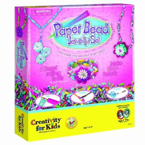 Creativity for Kids The Complete Paper Bead Jewellery Set