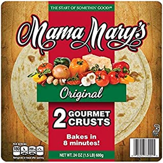 Mama Mary's Traditional Pizza Crust, 12 Inch, 24 oz