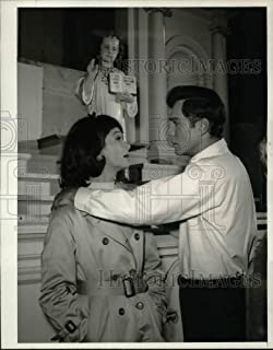 Historic Images - 1967 Press Photo George Maharis and Barbara Barrie in The Eighth Day