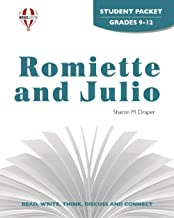 Romiette And Julio - Student Packet by Novel Units