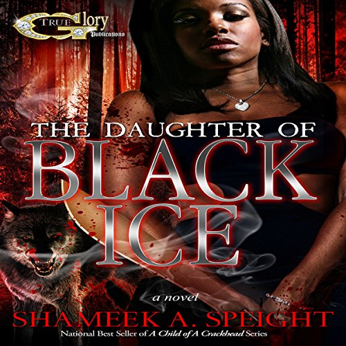 The Daughter of Black Ice audiobook cover art